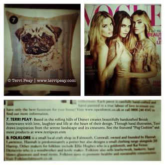 We've been featured in Vogue!