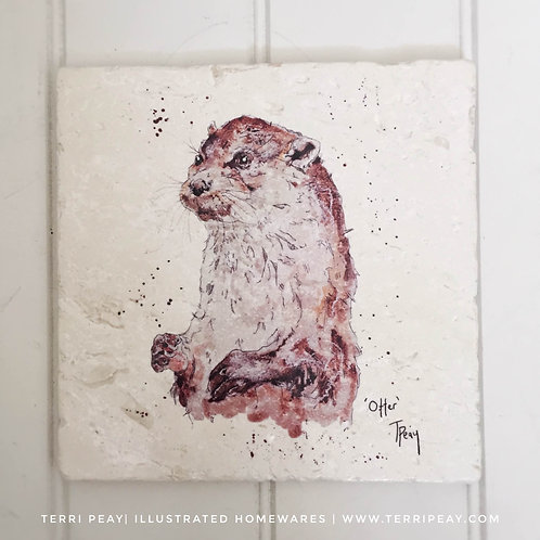 Handcrafted 'Otter' Placemat