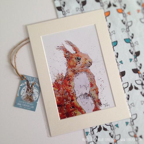 'Squirrel' Print