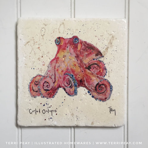 Handcrafted 'Octopus' Placemat