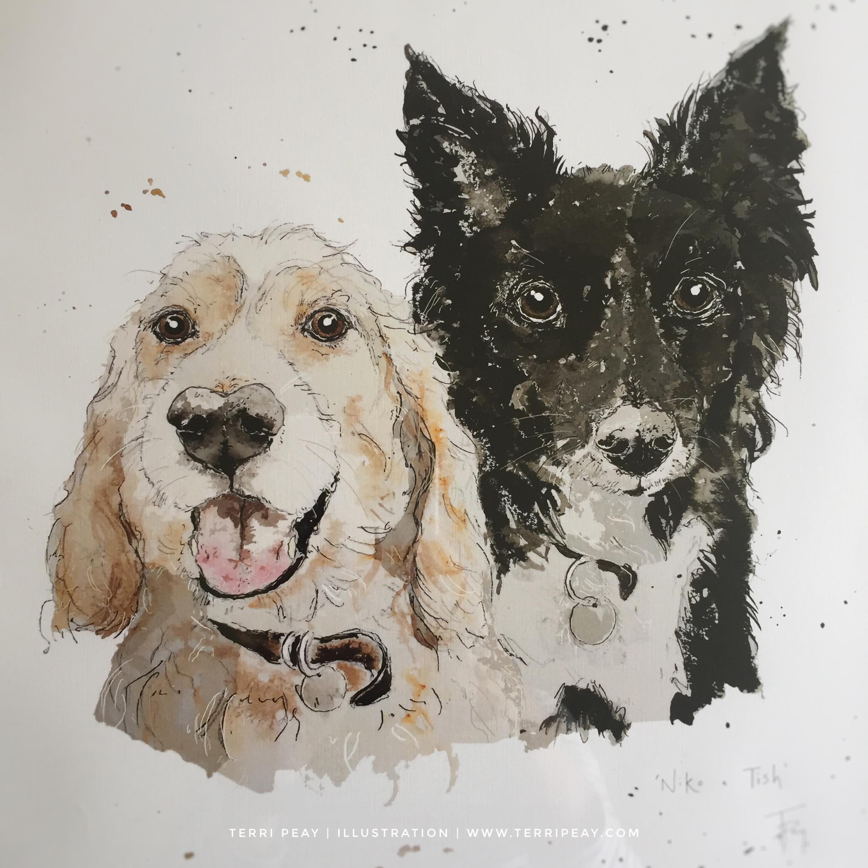 'Tish & Niko' By Terri Peay