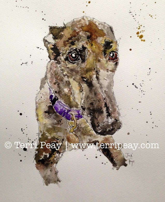 'Greyhound' By Terri Peay