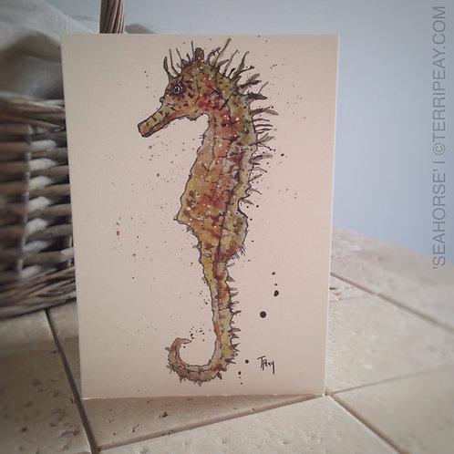 'Seahorse' Card