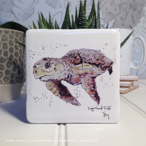 Hand Crafted 'Turtle' Coaster
