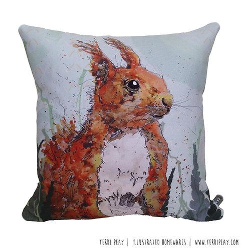 'Red Squirrel' Cushion