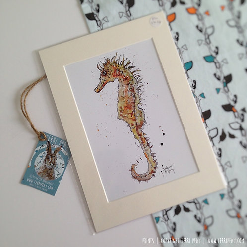 'Seahorse' Print