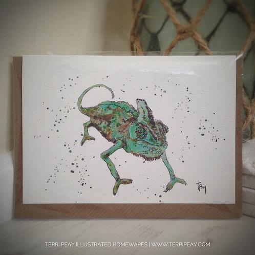 'Chameleon' Card
