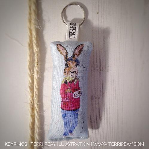'Hadleah, Hare' Keyring