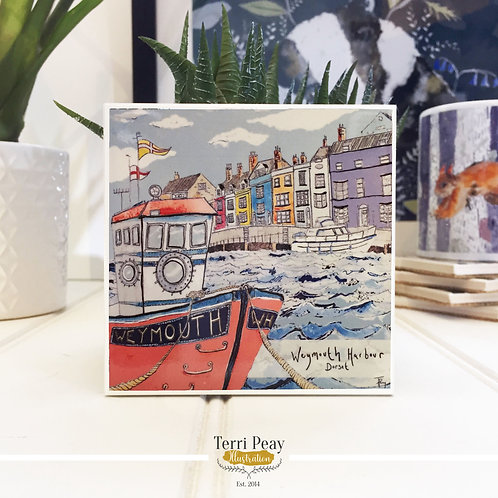 'Weymouth Harbour' Coaster