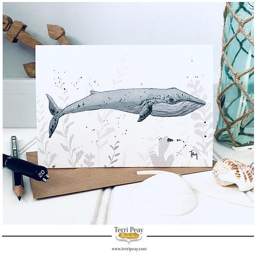 'Blue Whale' Card