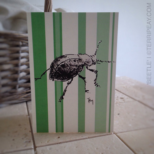 'Beetle' Card