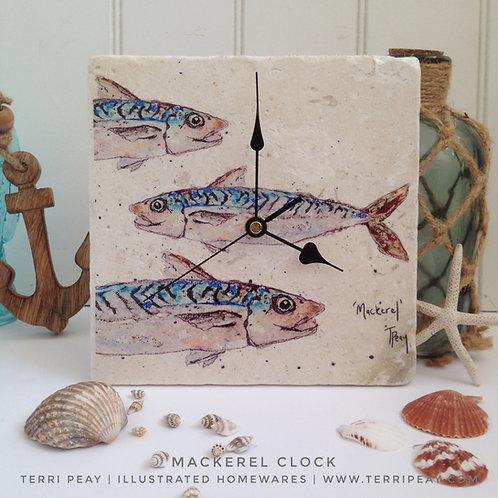 'Mackerel' Clock