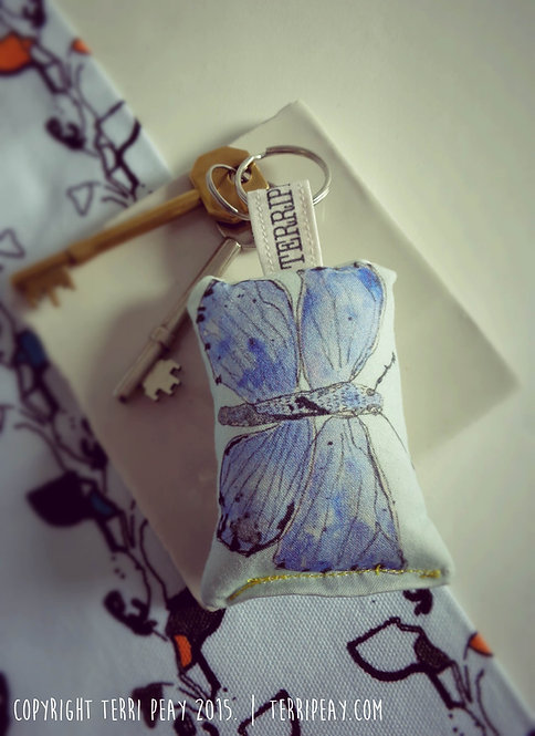 'Butterfly' Keyring