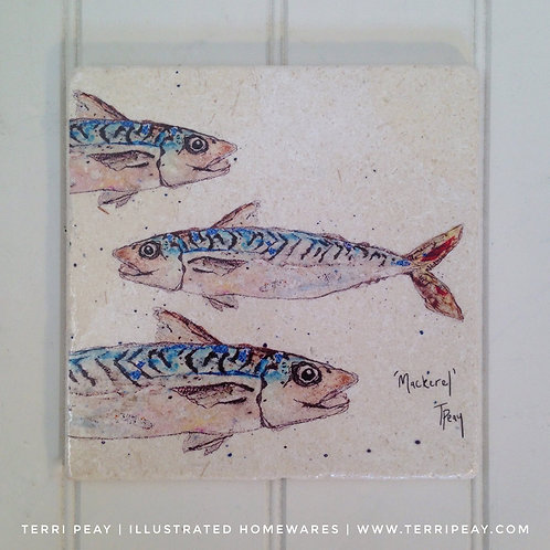 Handcrafted 'Mackerel' Placemat