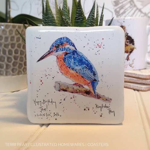 Hand Crafted Personalised Coaster