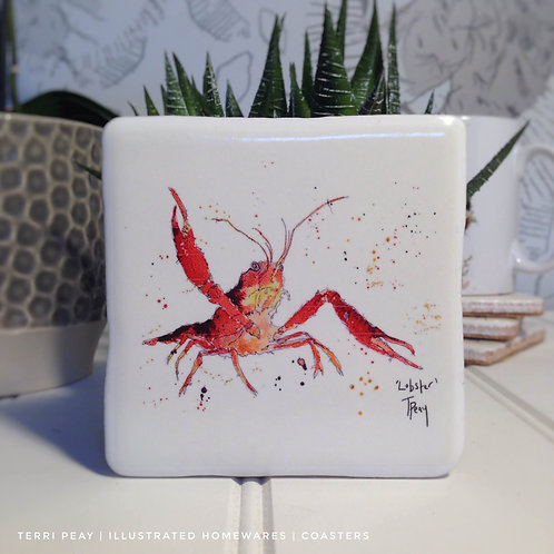 Hand Crafted 'Lobster' Coaster