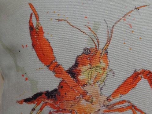 'Lobster' Cushion