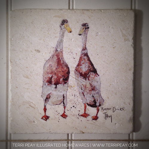 Handcrafted 'Runner Ducks' Placemat