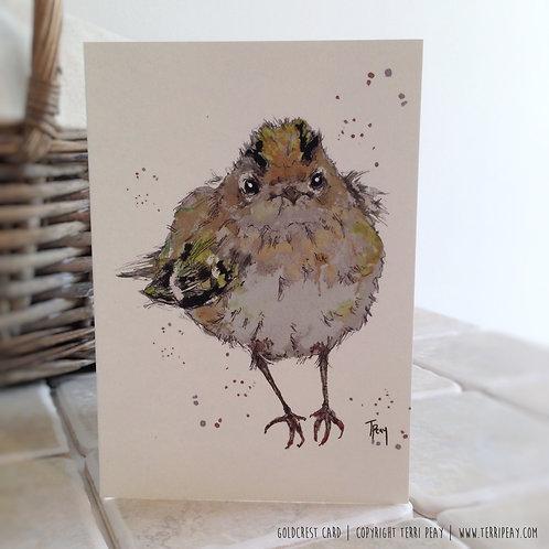 'Gold Crest' Card