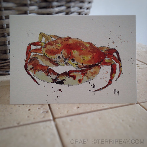 'Crab' Card