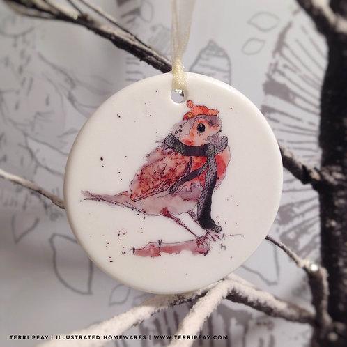 'Winter Robin' Decoration