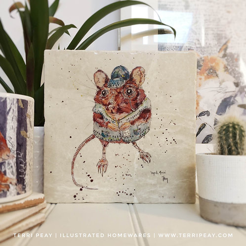 Handcrafted 'Ingrid, Mouse' Placemat