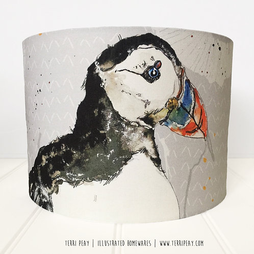 'Puffin' Lampshade