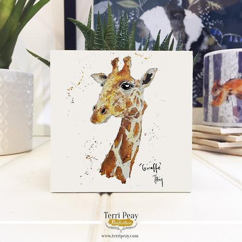 Hand Crafted 'Giraffe' Coaster