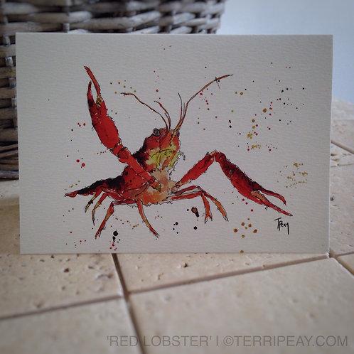 'Lobster' Card