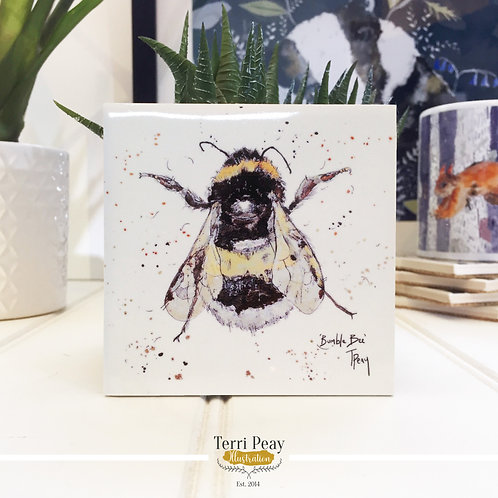 Hand Crafted 'Bumble Bee' Coaster