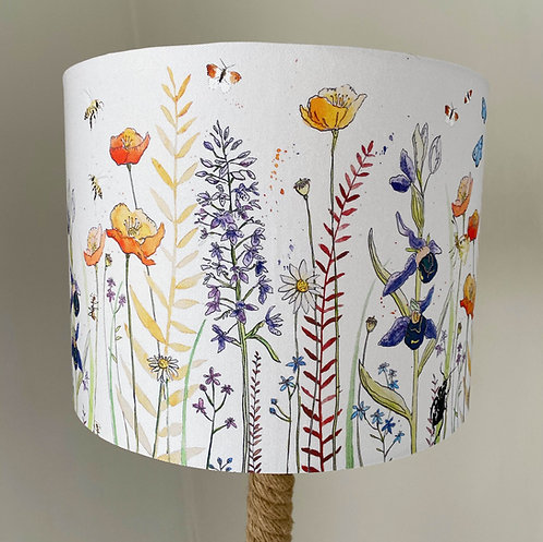 'Dan's Wild Flowers' Lampshade