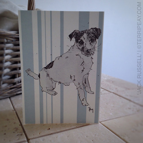 'Jack Russell' Card