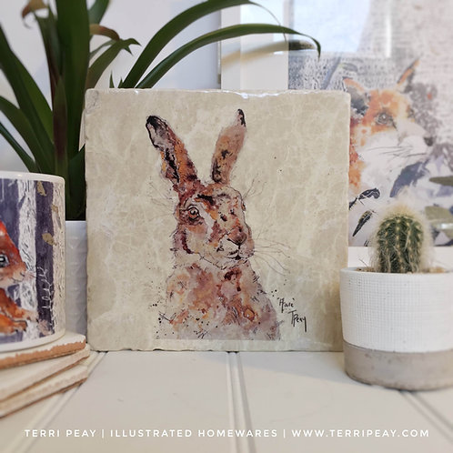 Handcrafted 'Hare' Placemat