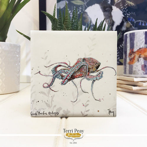 'Giant Pacific Octopus' Coaster