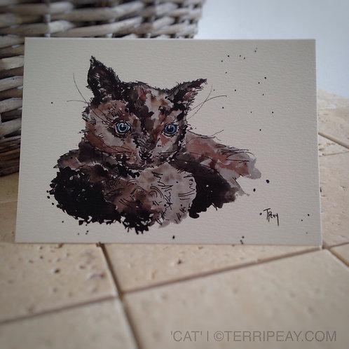 'Cat' Card