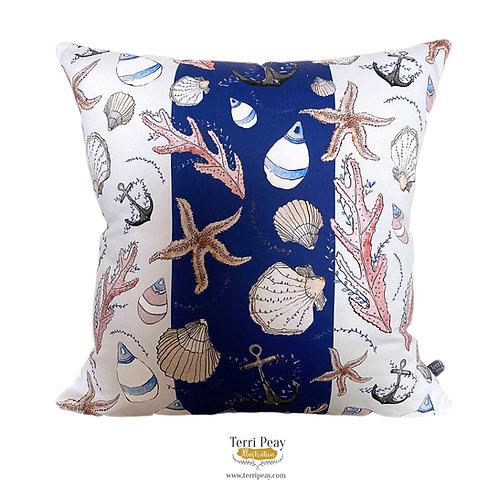 'Nautical' Cushion (Stripe)
