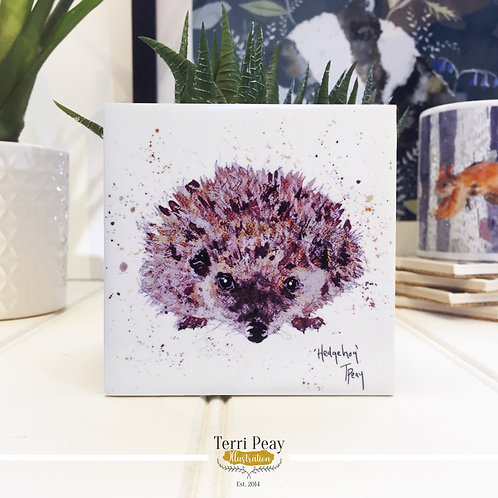 Hand Crafted 'Hedgehog' Coaster