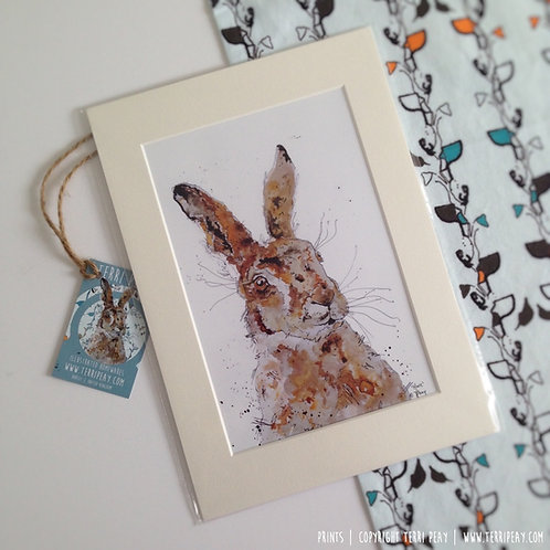 'Hare' Print