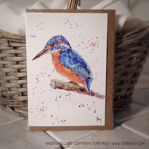 'Kingfisher' Card