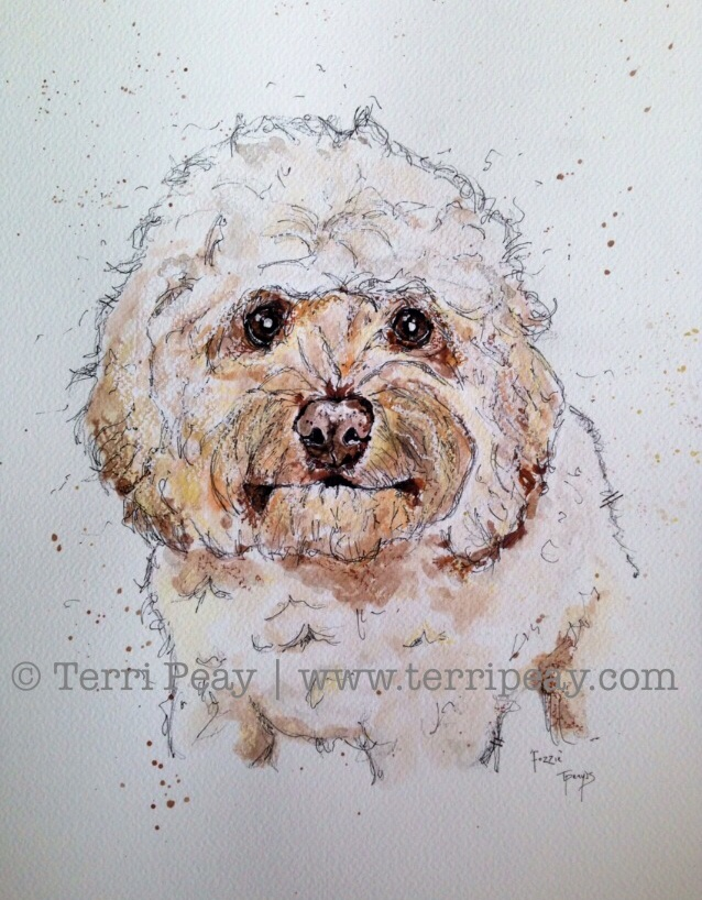 'Cockapoo' by Terri Peay