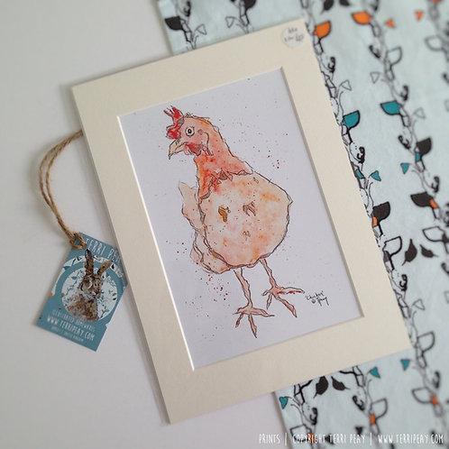 'Chicken' Print