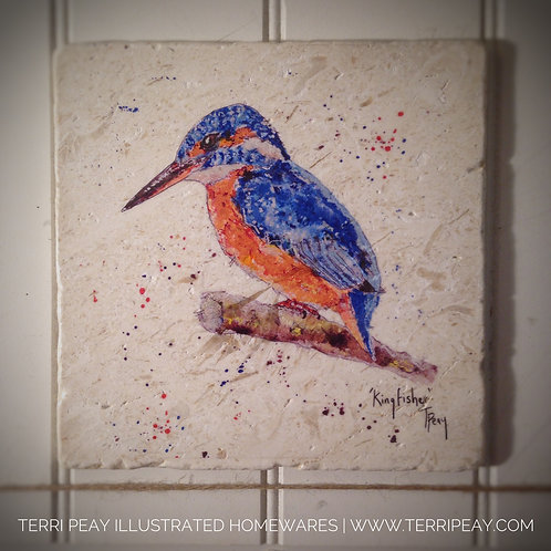 Handcrafted 'Kingfisher' Placemat