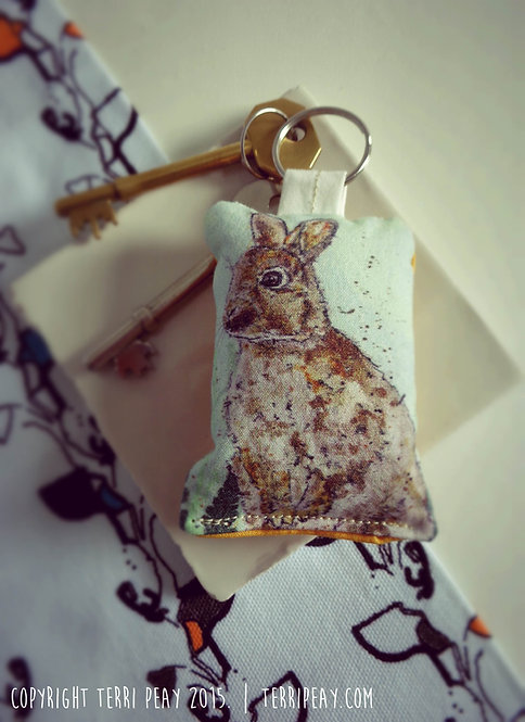 'Rabbit' Keyring