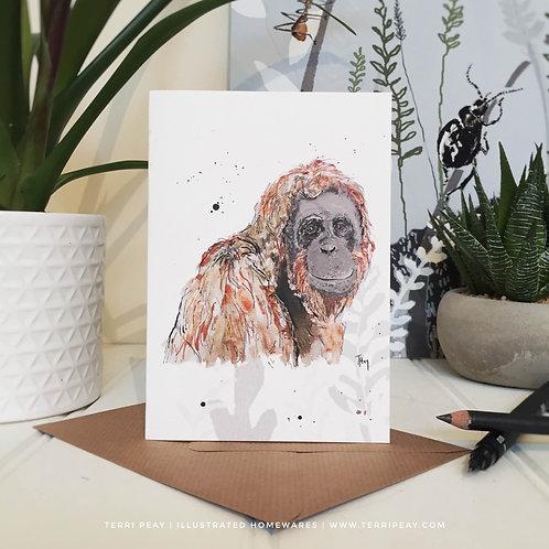'Orangutan' Card
