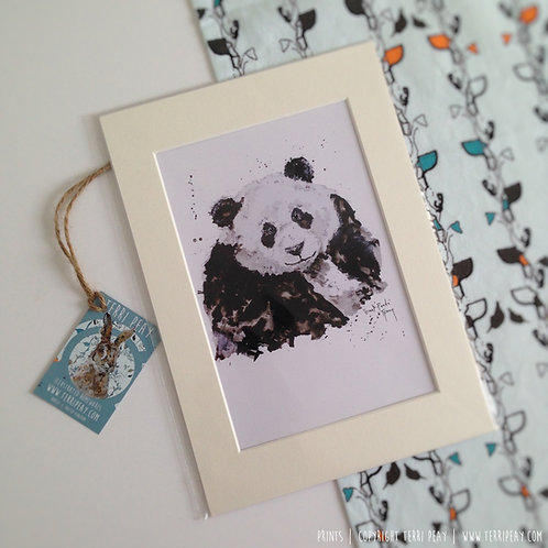 'Giant Panda' Print