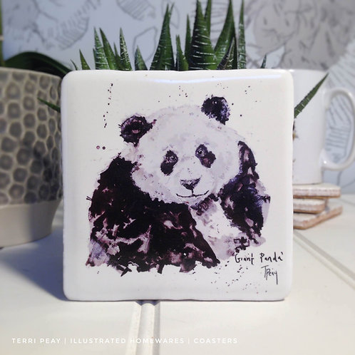 Hand Crafted 'Giant Panda' Coaster