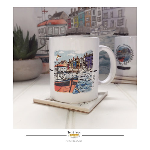 'Weymouth Harbour' Mug
