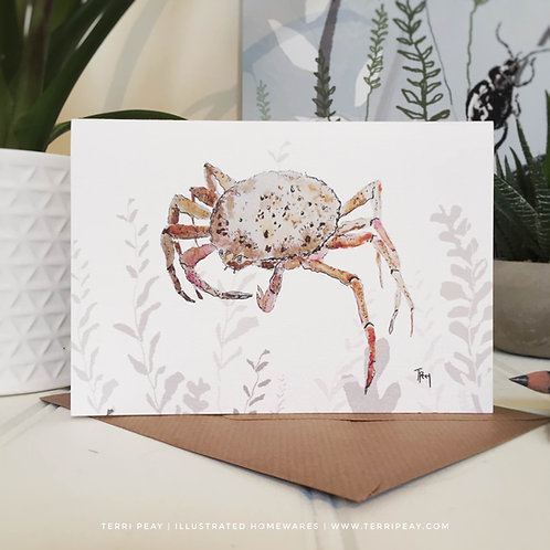 'Spider Crab' Card