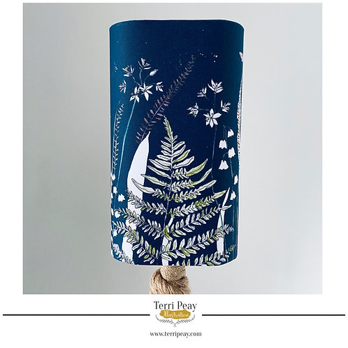 Square 'Wild Woodland' Lampshade