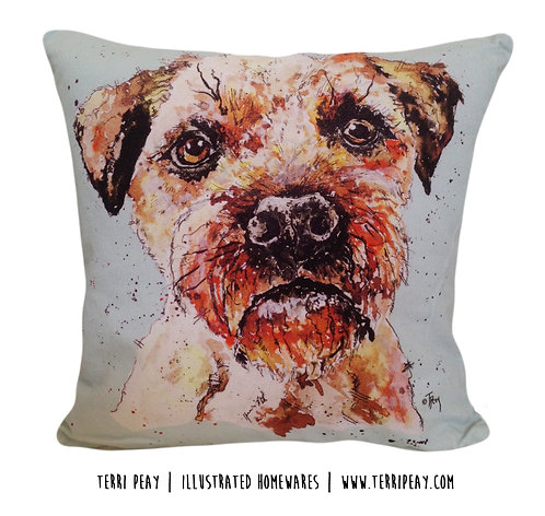 'Border Terrier' Cushion
